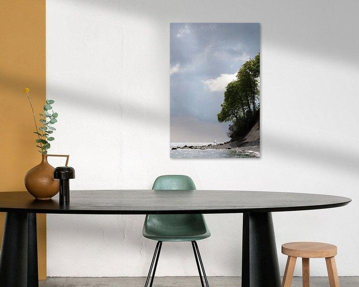 Beispiel: Kreideküste von Jana Behr