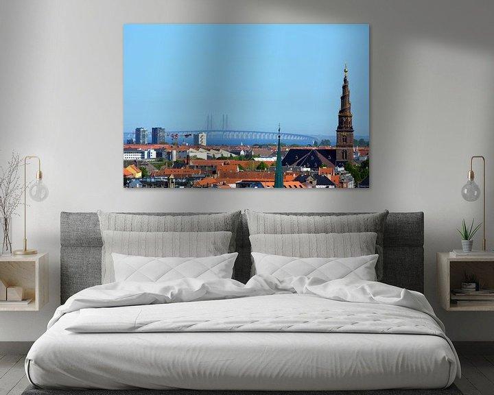Sfeerimpressie: Kopenhagen Sontbrug van Erwin Reinders