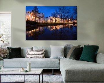Maliesingel in Utrecht tussen de Herenbrug en de Maliebaan van Donker Utrecht