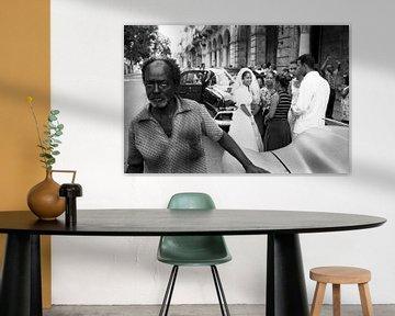 Marriage in Havana, Cuba von Henri Berlize