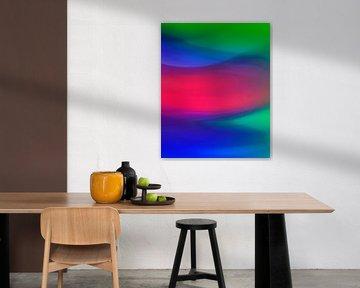 Neon Graphics the power of red van ART Eva Maria
