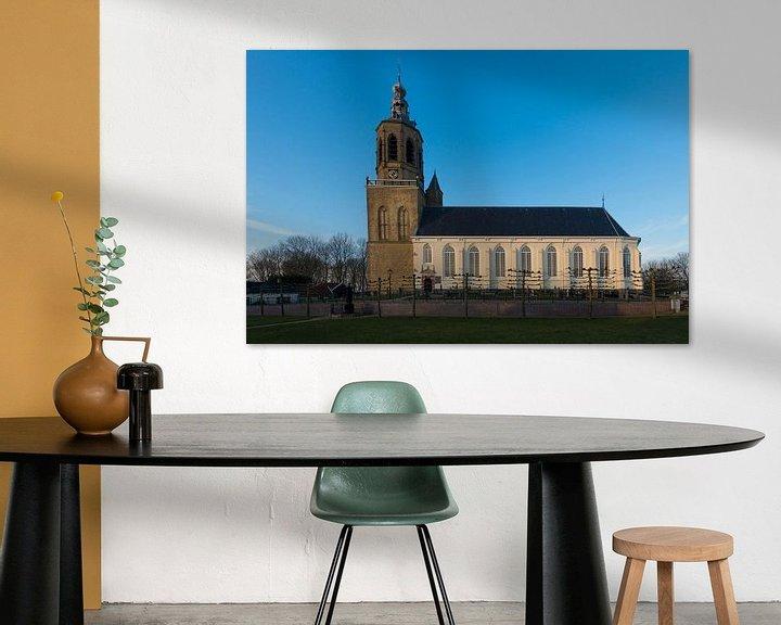 Sfeerimpressie: Kerk in Dronryp van Brian Morgan