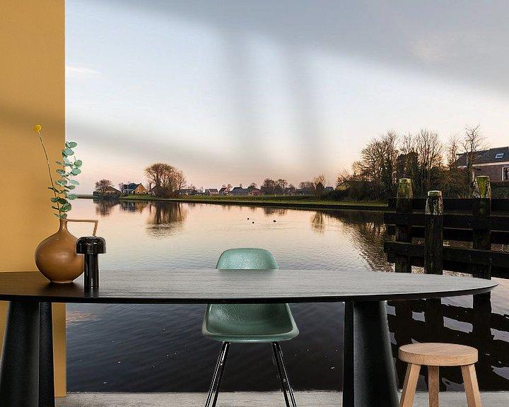 Sfeerimpressie behang: Zicht over het water van Brian Morgan