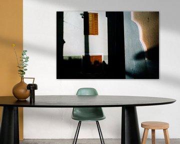 Light, color and  shadows, Greece van Henri Berlize