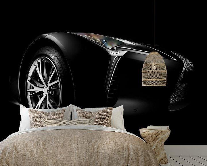 Sfeerimpressie behang: Lexus LC500h van Thomas Boudewijn