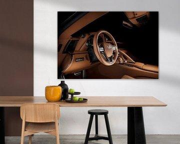 Lexus LC500h interieur van Thomas Boudewijn