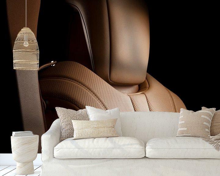 Sfeerimpressie behang: Lexus LC500h interieur van Thomas Boudewijn