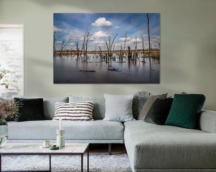 Sfeerimpressie: the icy lake van Koen Ceusters