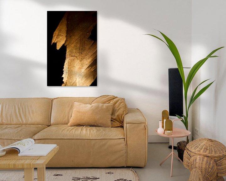 Sfeerimpressie: gouden vlam van Marieke de Boer