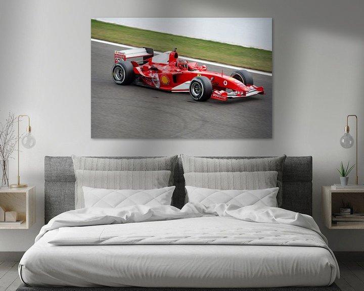 Beispiel: Ferrari F1 bolide F2004 von Tim Vlielander