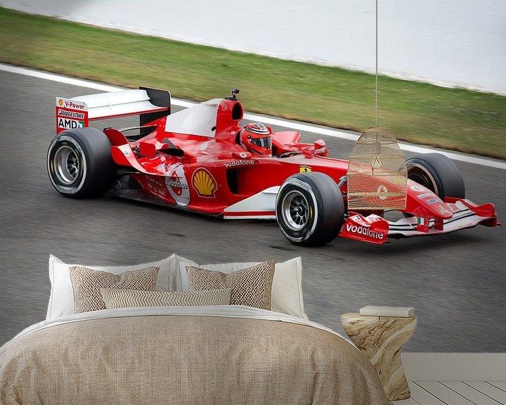 Beispiel fototapete: Ferrari F1 bolide F2004 von Tim Vlielander