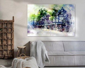 leven in Amsterdam 3 van Ariadna de Raadt-Goldberg