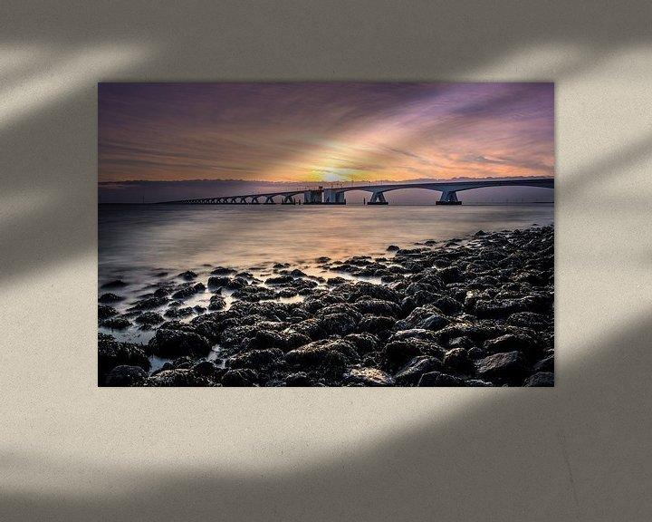 Sfeerimpressie: Zeelandbrug van Joyce Sahin
