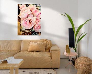 Roze bloemen von Natascha Lorkowska