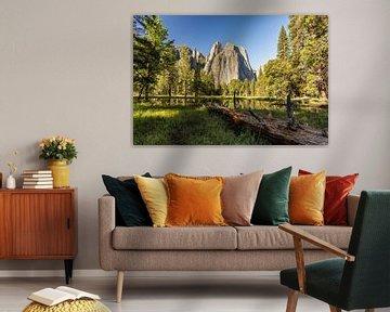 Cathedral - Yosemite National Park van Thomas Klinder