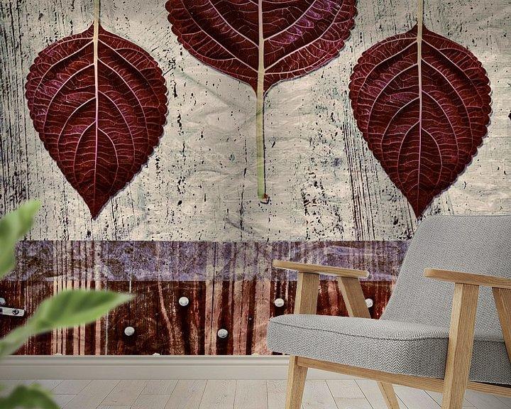 Sfeerimpressie behang: Nature Canvas van Aimelle ML