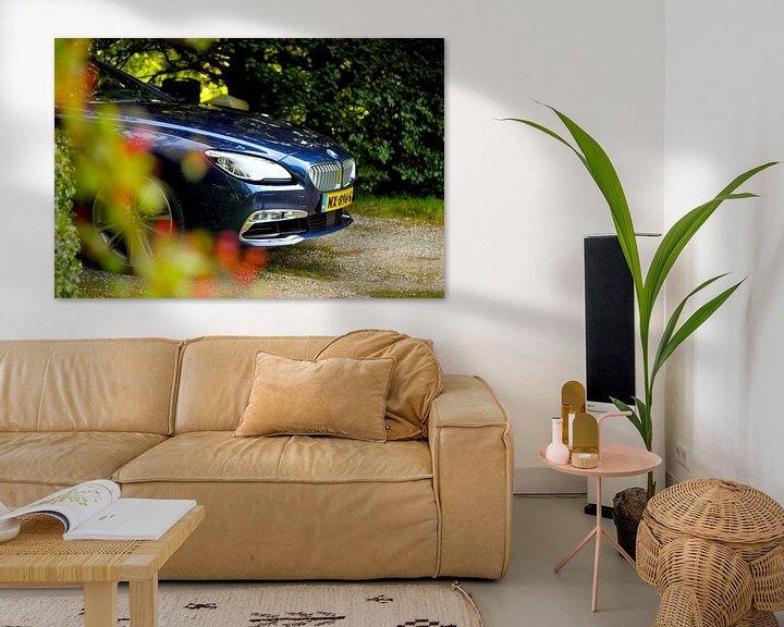 Sfeerimpressie: BMW 6-serie Cabriolet van Maarten van Hemel