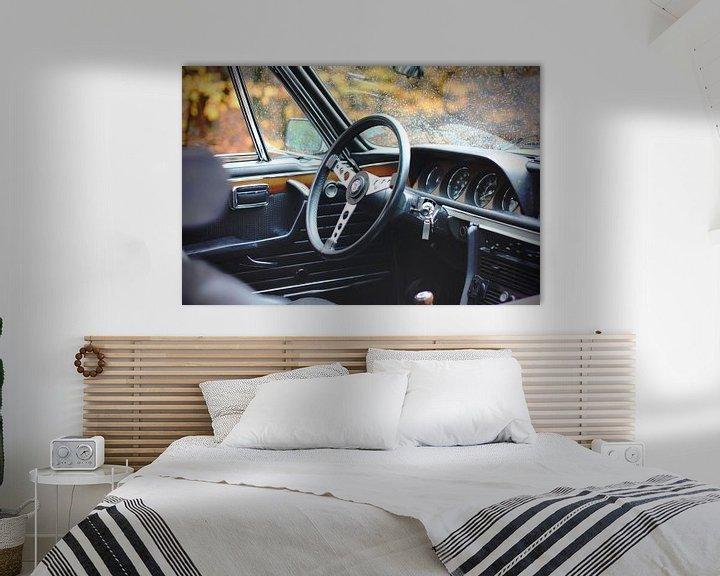 Sfeerimpressie: BMW 3.0 CSL e9. Oldtimer / klassieker van Maarten van Hemel