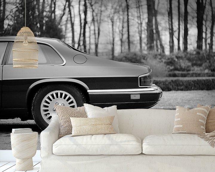 Sfeerimpressie behang: Jaguar XJS Klassieker / youngtimer van Maarten van Hemel