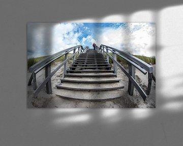 Trap strandopgang van peterheinspictures