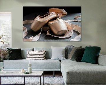 stilleven van balletschoenen von Heleen Pennings