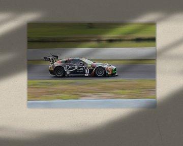 Aston Martin GT3 auf einer Rennstrecke sportscar von Atelier Liesjes