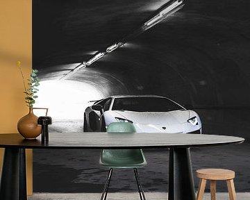 Lambo Aventador SV supercar van Atelier Liesjes