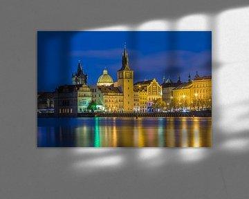 Die alte Stadt von Prag in der blauen Stunde, Tschechische Republik - 1 von Tux Photography