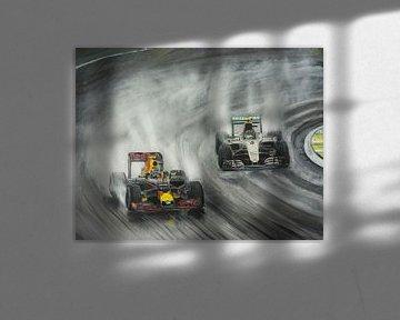 Max Verstappen passe Nico  Rosberg sur Paul Smit