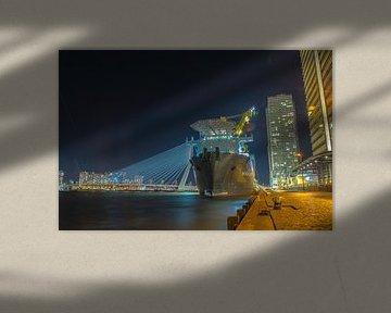 Erasmusbrug Rotterdam  sur Freddie de Roeck