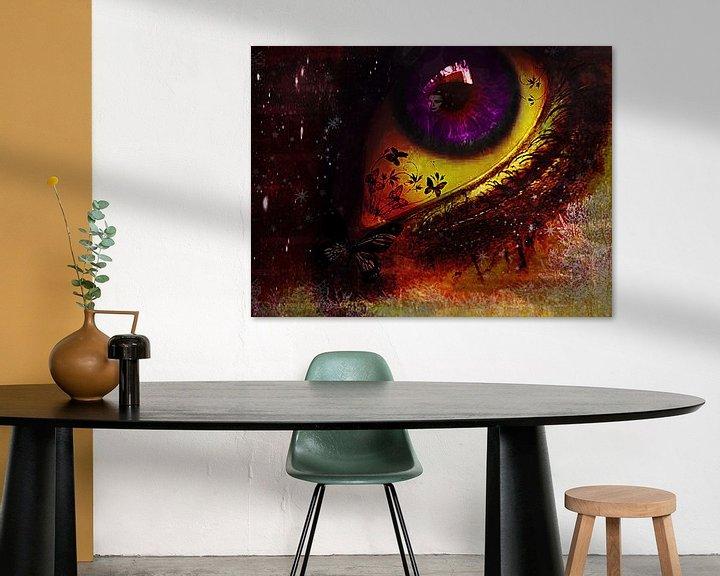 Beispiel: Fairy_night_eye_ von Yvon van der Wijk