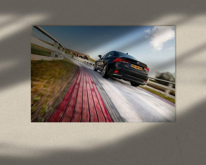Sfeerimpressie: Lexus IS300h van Thomas Boudewijn