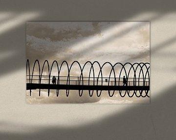 Slinky Springs To Fame (7-138922) B+W von Franz Walter