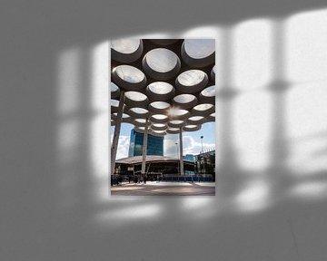 Bahnhofplatz Utrecht von Jan van der Knaap