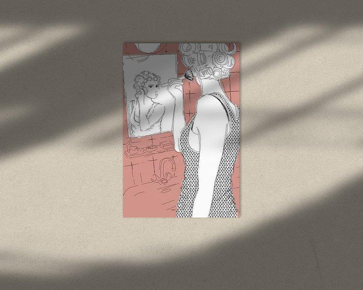 Sfeerimpressie: Krullend haar en een blos van Kris Stuurop