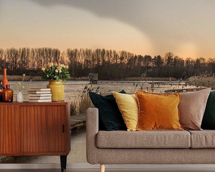 "Impression: sunset at the park ""Het Vinne"" sur Koen Ceusters"