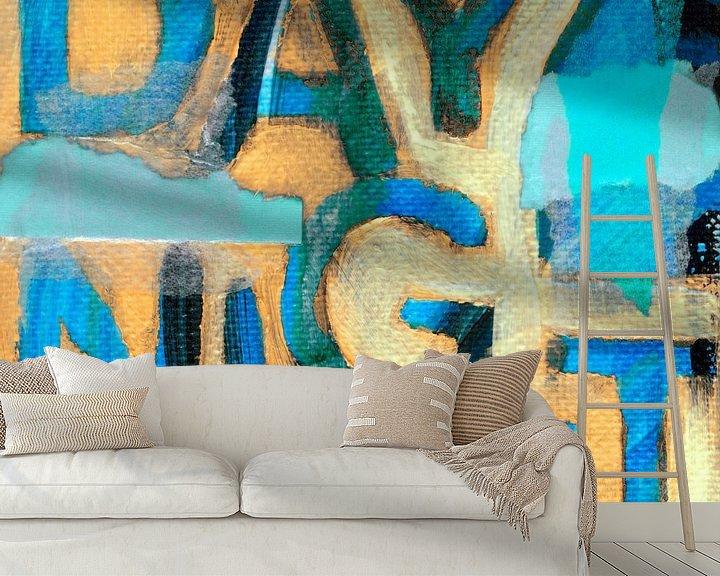 Sfeerimpressie behang: Day Night van ART Eva Maria