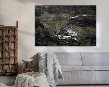 Mountain village in Africa von Robert Beekelaar