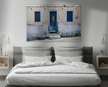Facade in Greece von Robert Beekelaar