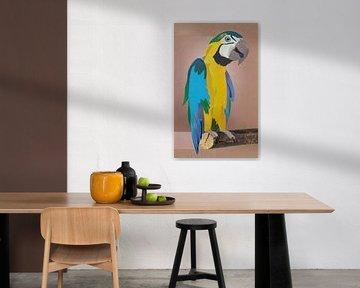 Parrot XL van Kirsten Wagenaar