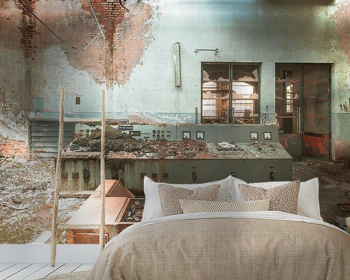 Sfeerimpressie behang: Ghost factory van Olivier Photography