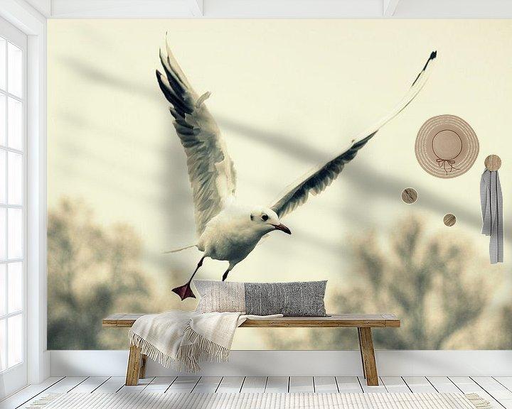Sfeerimpressie behang: Limitless van Forestia Arts
