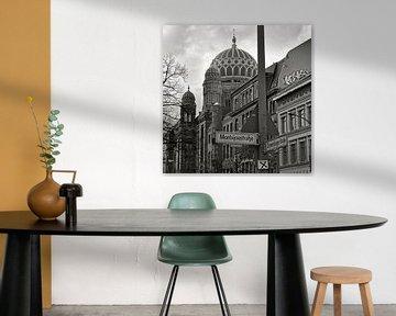 Neue Synagoge Berlin von Silva Wischeropp