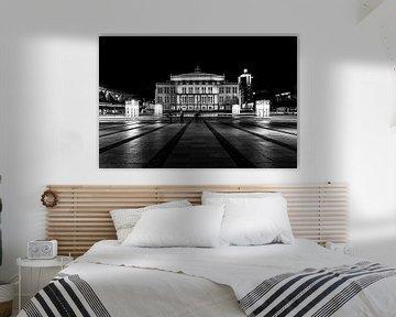 Leipzig bei Nacht von Diana Bruhn