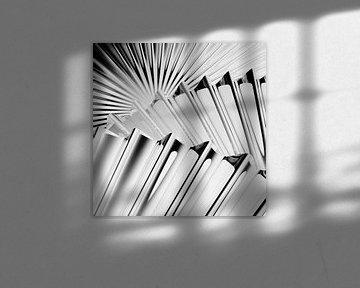 Wavy Edge Discs b/w inverted van Jörg Hausmann
