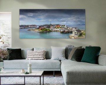 Henningsvær en Norvège sur Hamperium Photography