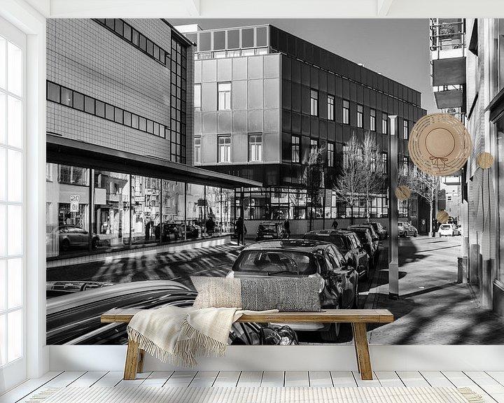 Sfeerimpressie behang: Heerlen, Dr. Poelsstraat van Leo Langen