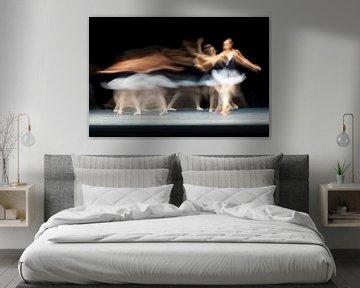 Abstracte ballerina danseres van Atelier Liesjes