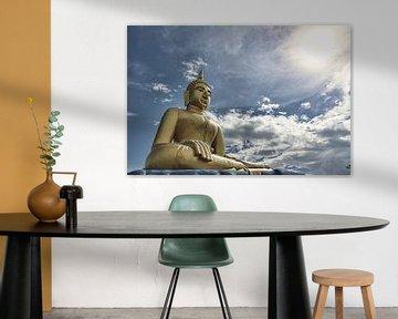 Statue eines Buddha