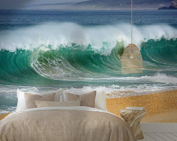 Sfeerimpressie behang: PORTUGAL ... wave I van Meleah Fotografie